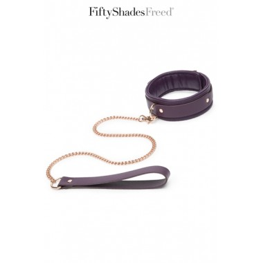 Collier et laisse cuir - Fifty Shades Freed